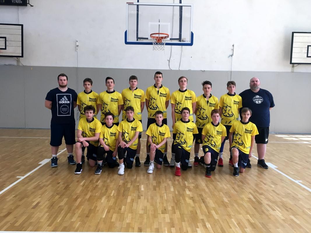 20180414_U14_KAPecs-BKSnakesOstravaxBK Snakes Ostrava